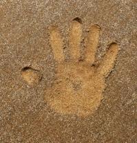 Odcisk dłoni