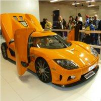 Skasowany Koenigsegg