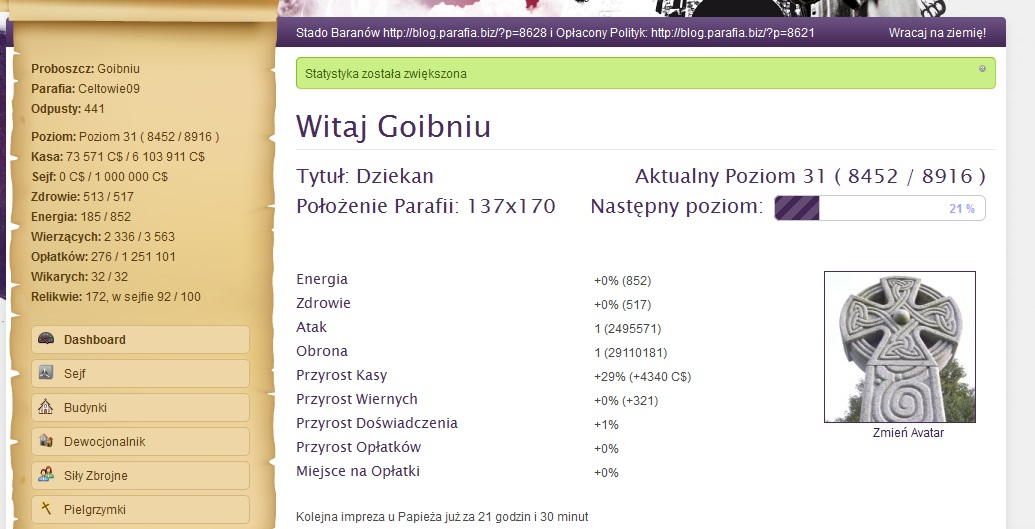 Raport o Goibniu